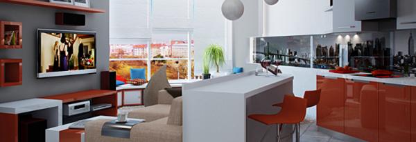 Свободная планировка квартиры. Как сделать малогабаритную квартиру просторней?