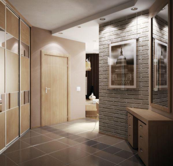 Дизайн квартиры с раздвижными дверьми