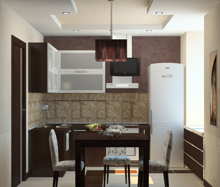 Фото кухни дизайн в панельном доме