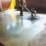 Железнение бетонных поверхностей — технология железнения цементом и жидким стеклом