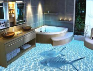 зд пол в ванной