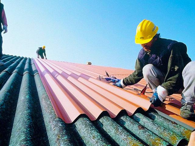 Покрыть крышу профнастилом своими руками на шифер