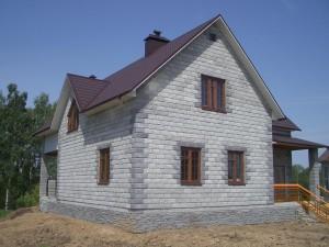 Газобетонные блоки, дом