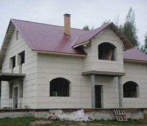 Газосиликатные блоки, дом