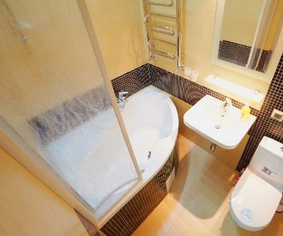 Дизайн душевой с туалетом 4 кв.м