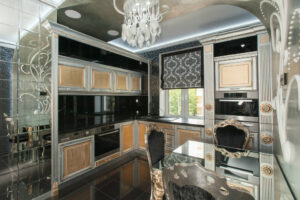Дизайн кухни в стиле ар-деко
