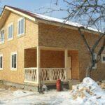 Каркасный дом — процесс строительства сокращен до минимума