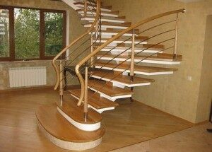 лестница для дачи