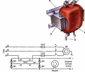недостаточная нагрузка в трансформаторе