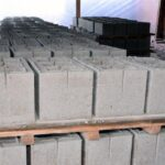 стеновые пескоцементные блоки