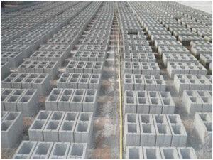Блоки стеновые пескоцементные