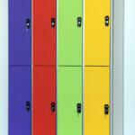 Металлические шкафы для раздевалок бассейнов и спортивных центров