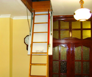 Выдвижная лестница