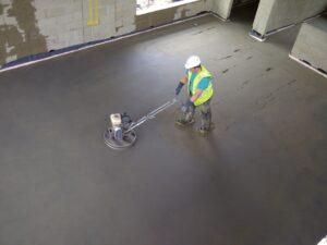 бетонная половая стяжка