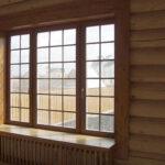 Деревянные окна с алюминиевой накладкой. Насколько это прочно?