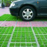 Сделай свой участок красивым при помощи газонной решетки