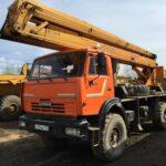 Автовышка КАМАЗ — основные элементы и преимущества работы