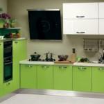 Кухня - зеленый цвет