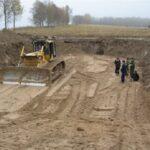 Разработка грунта в котловане и траншеях