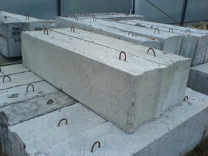 фундаментных блоков