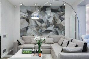 серый цвет в дизайне квартиры