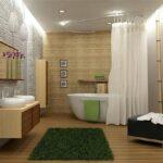 Отделка ванной комнаты с использованием ДПК