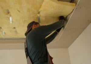 Натяжной потолок с шумоизоляцией