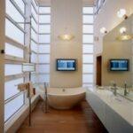 Качественное освещение в ванной комнате