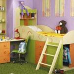 Нестандартная мебель в детскую