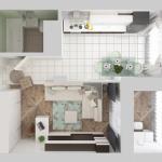 Аспекты оформления однокомнатной жилой квартиры
