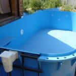 Можно ли закапывать каркасный бассейн?