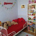 Миннен детская раздвижная кровать фото