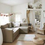 Угловой диван Монстад от Икеа фото