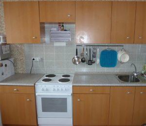 Кухня альбру от Икеа коричневый цвет