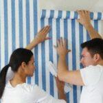 Рекомендации при оклейке помещения обоями