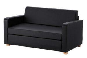 Диван кровать сольста, черный IKEA