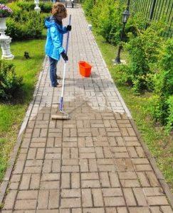 очистка от высолов
