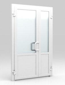 Двери из металлопластика