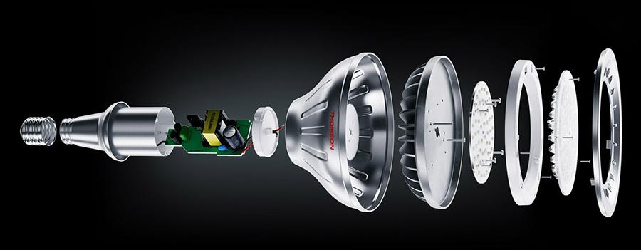 Производство светодиодных ламп