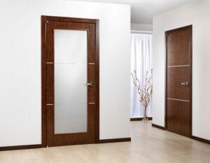 дверей со стеклянными вставками