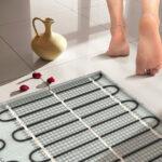 Что дает подогрев полов в вашей ванной комнате или душевой?