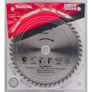 Пильный диск по дереву (235x30/25 мм; 48t) d-45951