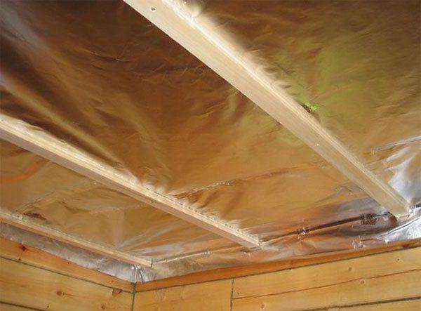 Утепление деревянного потолка своими руками 231
