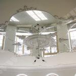 Зеркальный потолок — виды и особенности монтажа