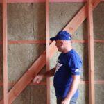 Как выполнить утепление каркасного дома минеральной ватой?