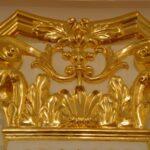 Сусальное золото в реставрации старинной мебели