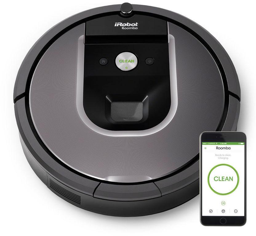 Робот-пылесос для сухой уборки iRobot