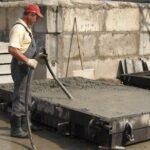 Воздействие импульсов при укладке бетонной смеси