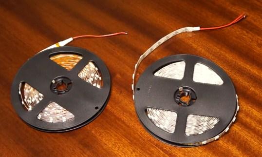 Светодиодная лента 5050 и 3528