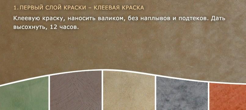 Клеевая краска: характеристики и принципы использования